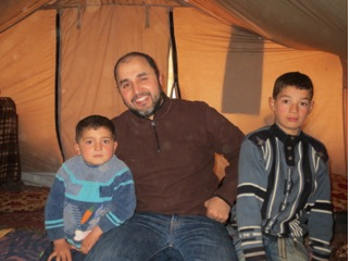 Yaser's Diary: A Night at Qah Refugee Camp