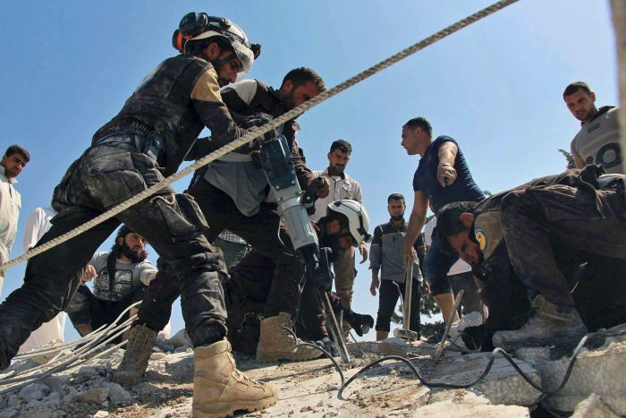 SRD Calls for action to open safe corridors for civilians in Syria