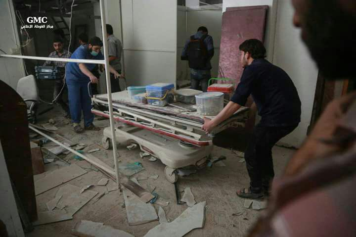 The Systematic Targeting of Personnel and Health Facilities in Syria