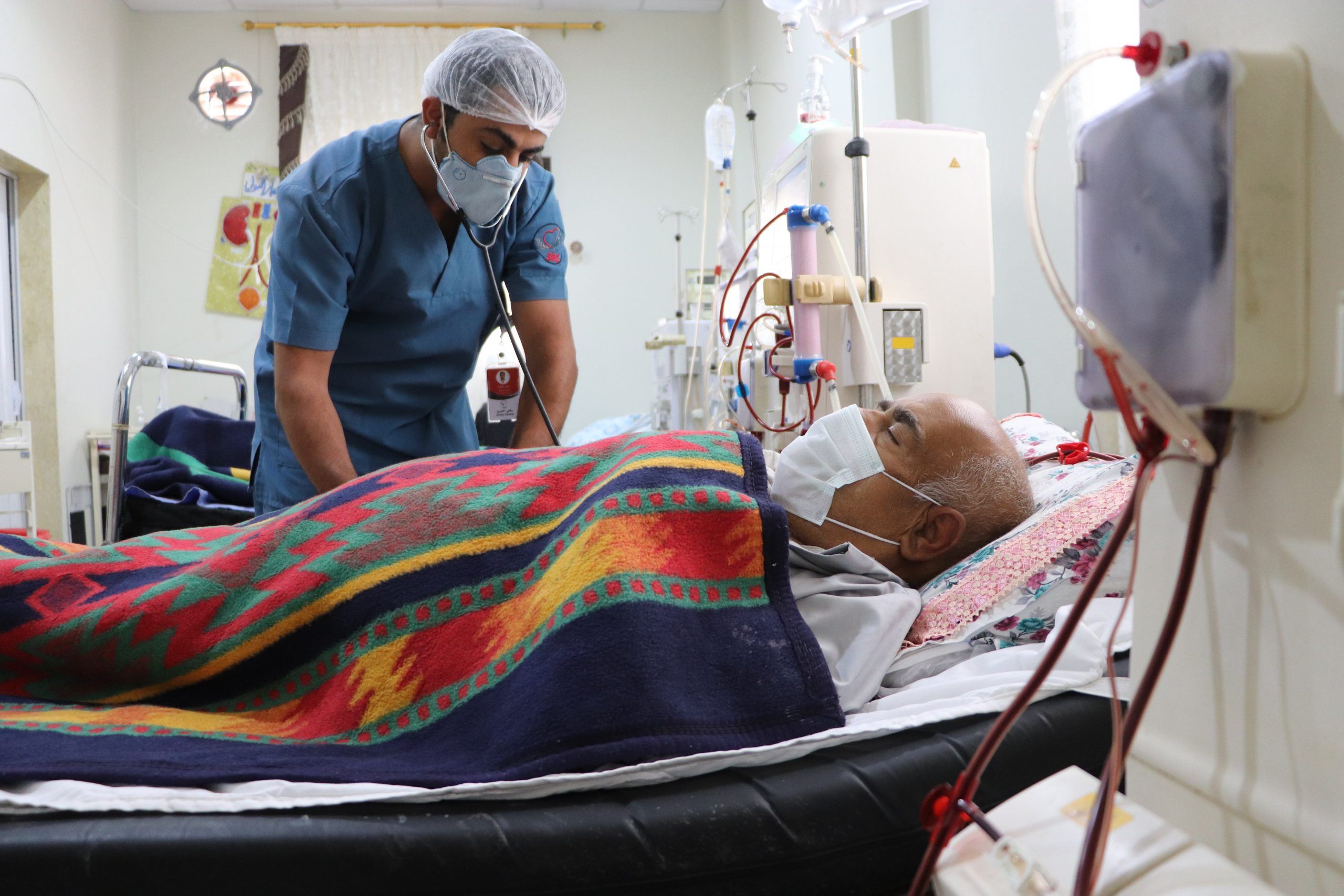 Abdul's Survival Story: Journey to Akhtarin Hospital