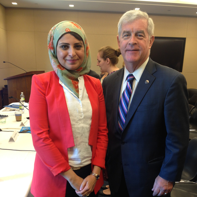 Co-Founder Speaks at Inaugural Women, Peace & Security Breakfast