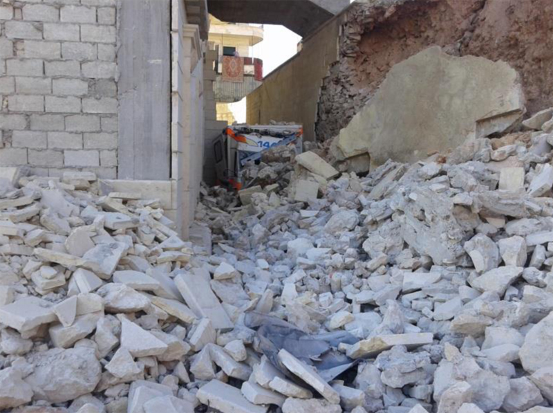 3 Health Facilities Attacked in Syria on Christmas