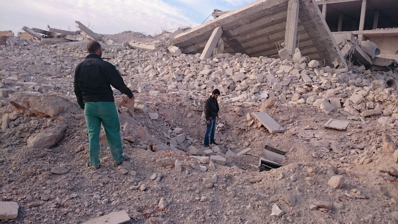 SRD's Baghdad Hospital among those destroyed in Aleppo attack