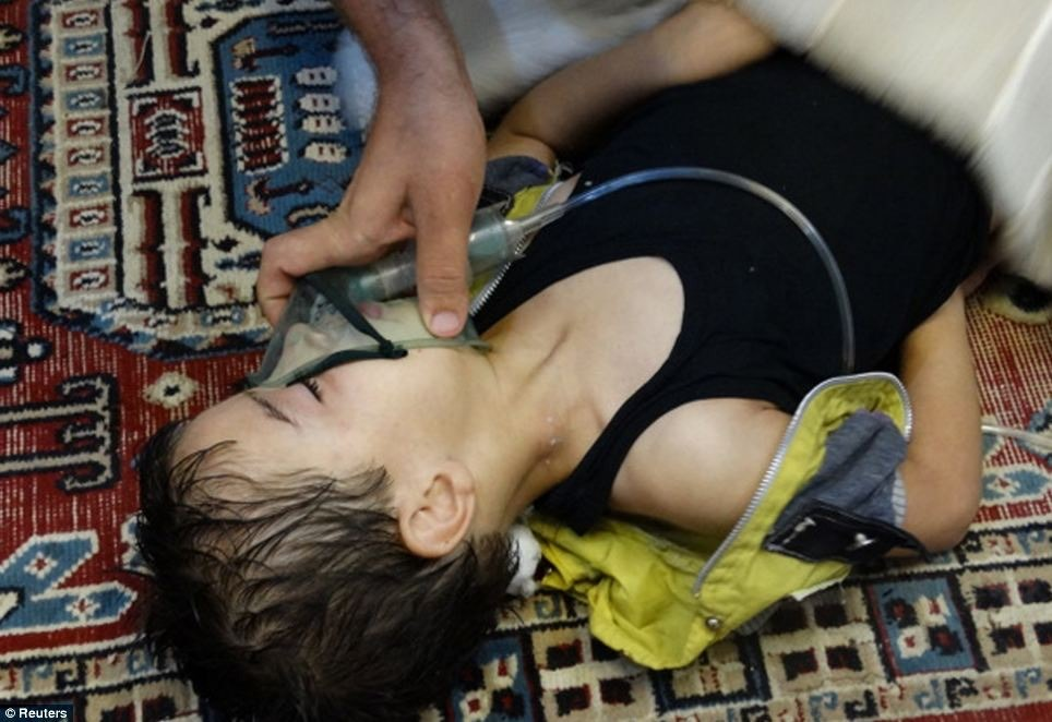 The seventh anniversary of the sarin gas massacre in Eastern Ghouta