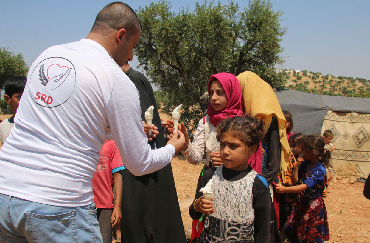 Emergency response in Aqrabat camps