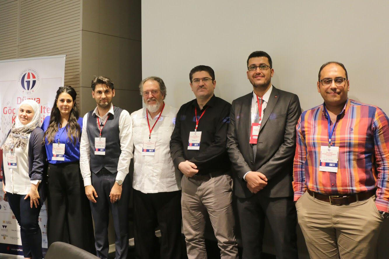SRD colleagues presents at The Global Refugee Migration Congress