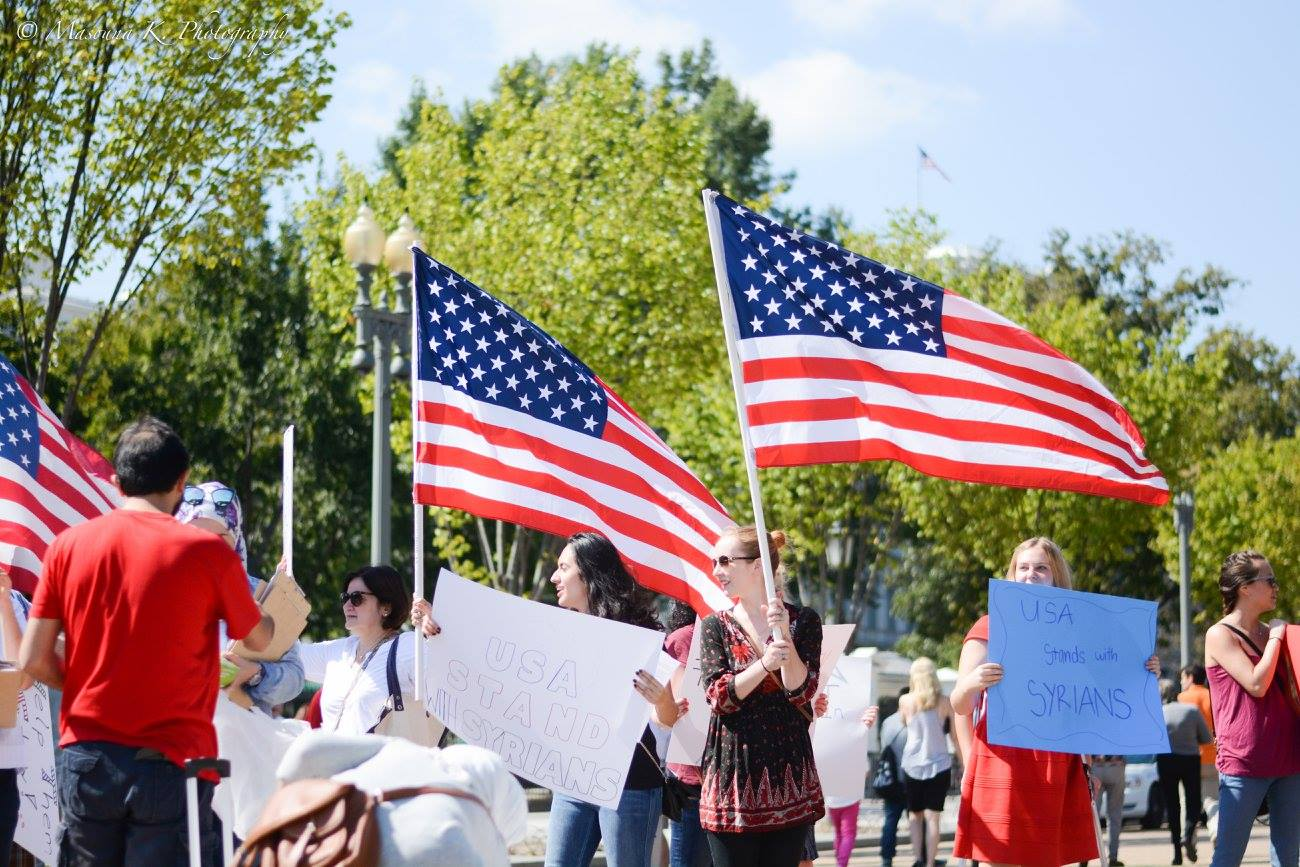 DC: Solidarity with Syrian Refugees
