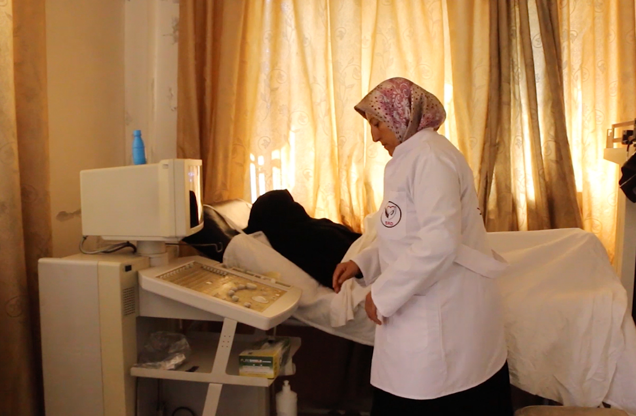 SRD Midwife Offers Expertise During Crisis in Northern Syria
