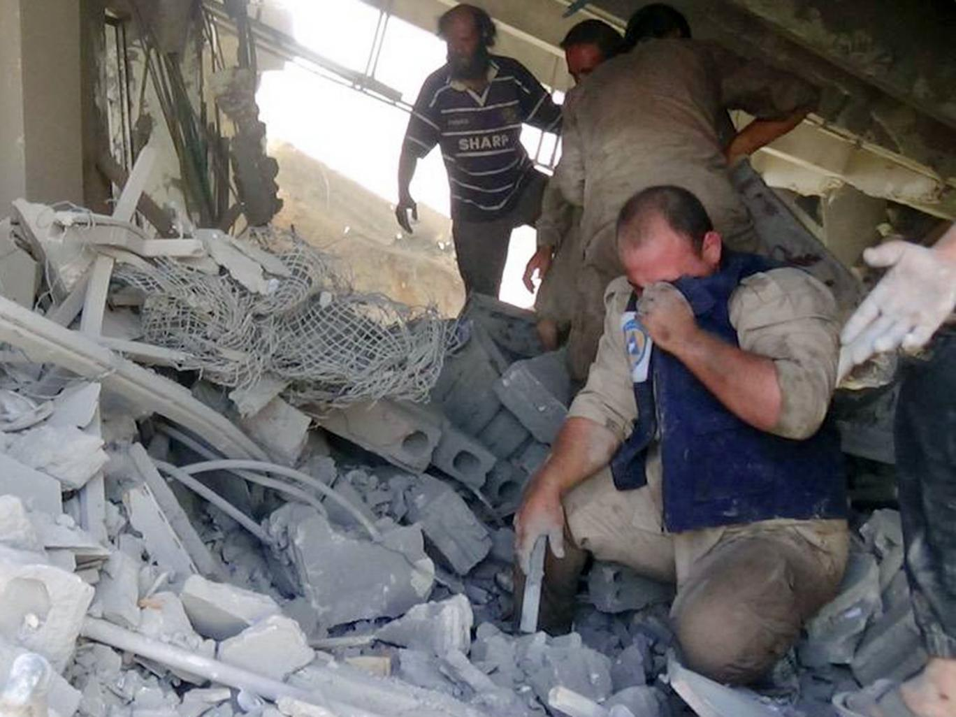 American Relief Coalition for Syria Strongly Condemns Russian Airstrikes on Syrian Civilians