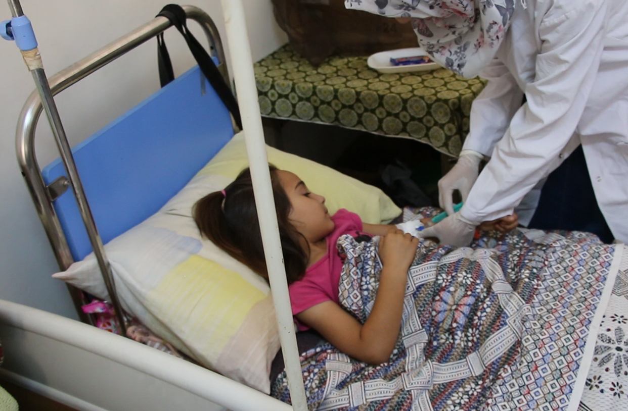 SRD Saves 4-year-old from Tuberculosis