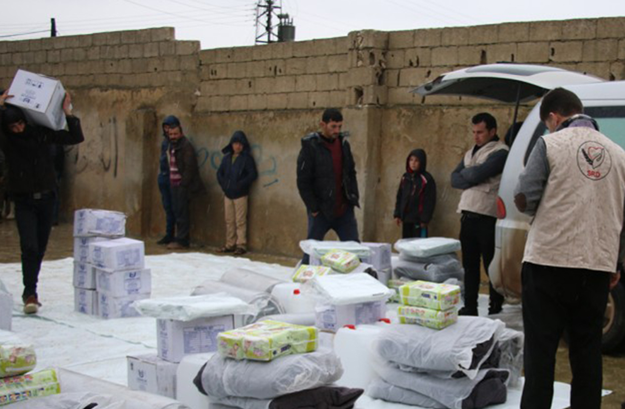 SRD Provides Winter Care to Syrian Families in Need