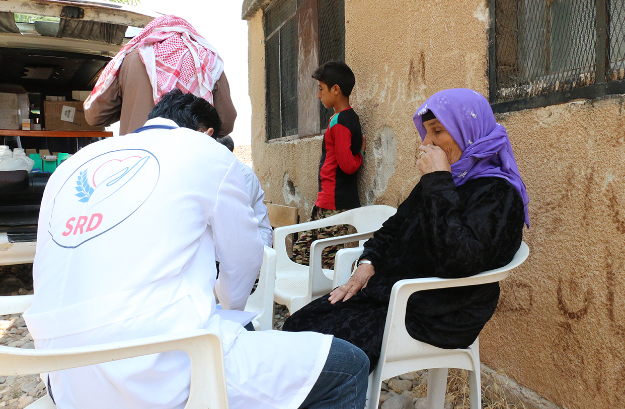 Woman Seeks Medical Assistance Post Bombing