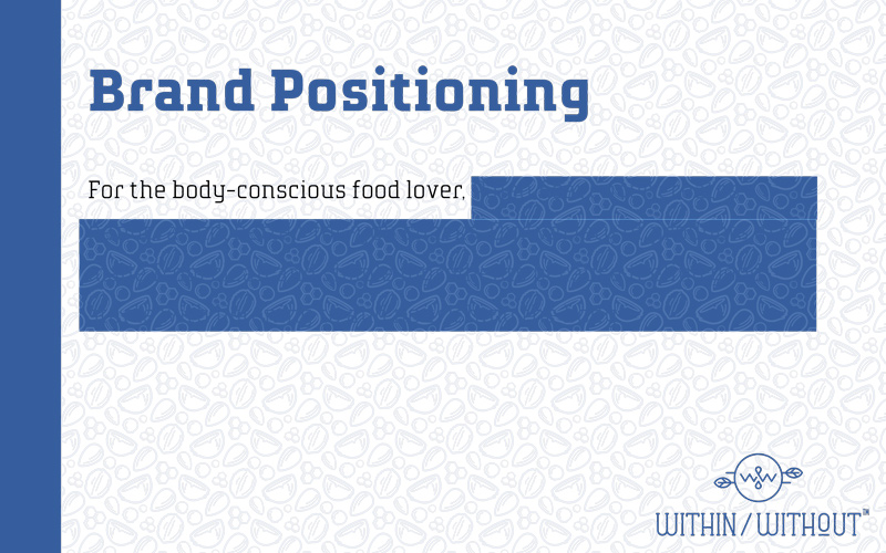 Within Without Branding Deck — Position Statement Slide 2
