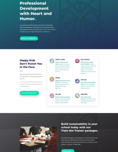 Totem Home Page Layout