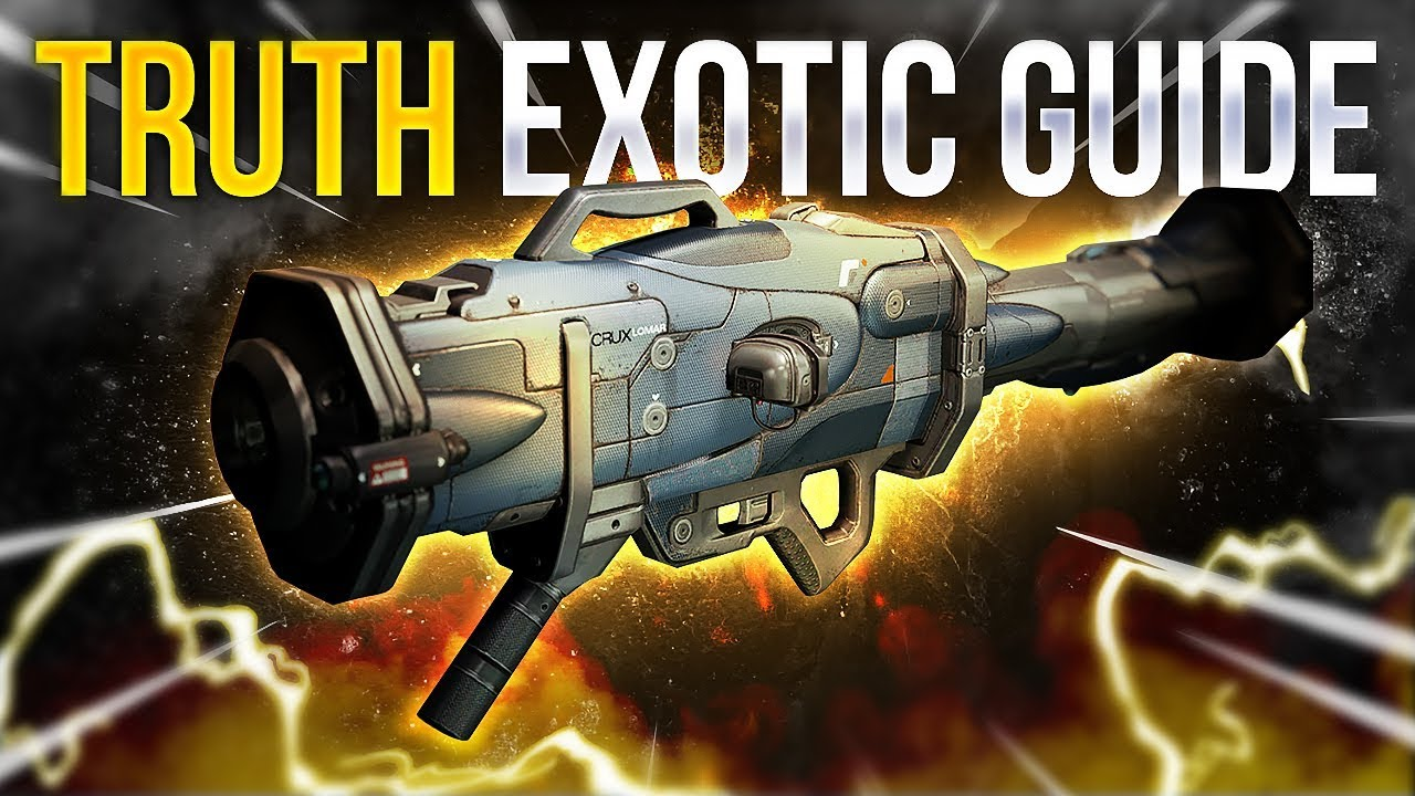 Destiny 2: How to Get the TRUTH Exotic Rocket Launcher!   Easy Guide!