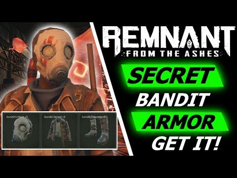 REMNANT FROM THE ASHES   How to Get the Secret Bandit Armor Set