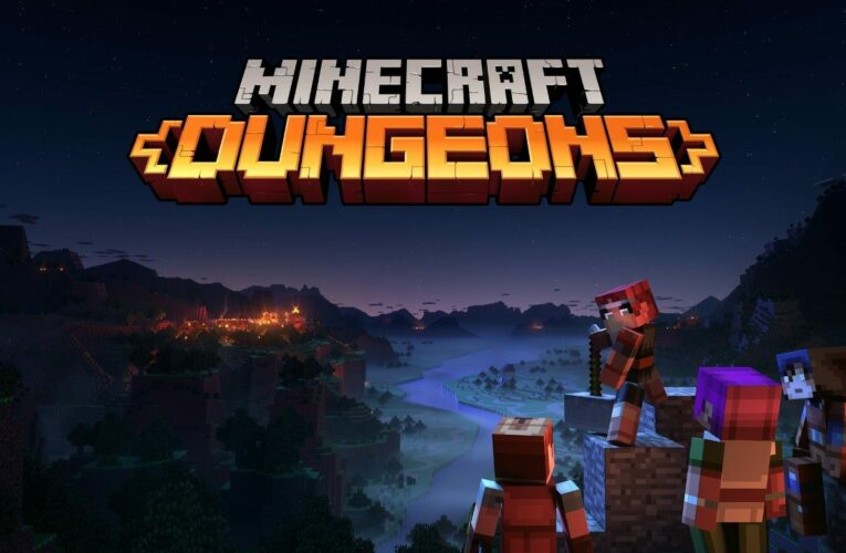 Minecraft Dungeons – X019 – Release Date Announce Trailer