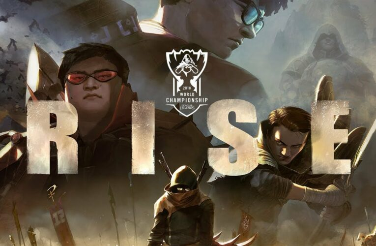 RISE (ft. The Glitch Mob, Mako, and The Word Alive)   Worlds 2018 – League of Legends
