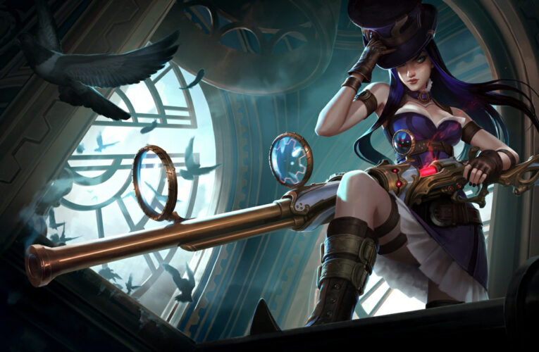 How to Play CAITLYN ADC for Beginners   CAITLYN Guide Season 10   League of Legends