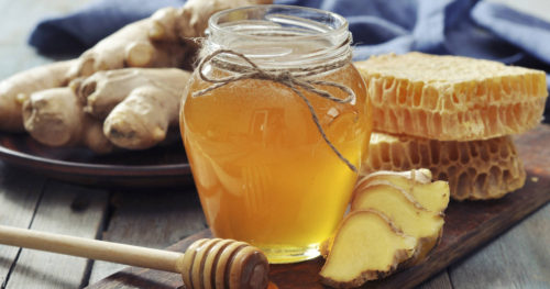 Honey Ginger for Treating a Bad Cough in Just 1 Night