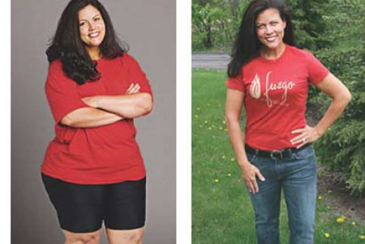 She Lost 52 Pounds in 6 Weeks by Using Only One Trick Before Going to Bed.
