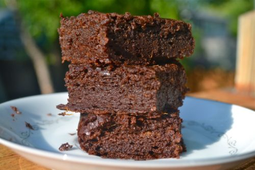 Sweet Potato Brownies that are 100% Gluten and Dairy Free