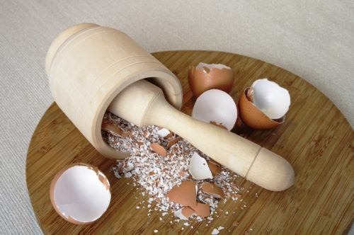 Instructions to Dispose of Tooth Cavities Using Only Eggshells