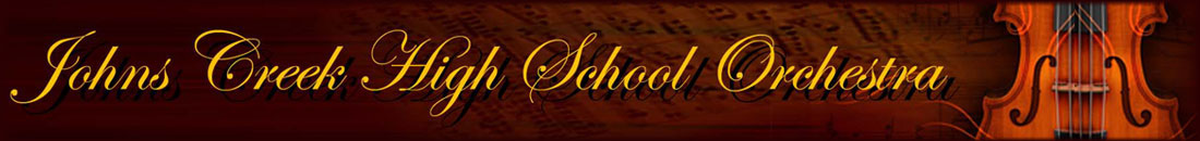 Johns Creek High School Orchestra Logo