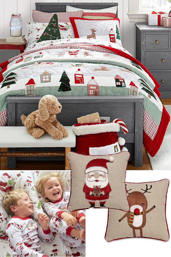 Kids Christmas Bedding