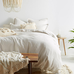 Relaxed Cotton Linen Boho Bedding