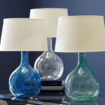 Eva Colored Glass Lamps