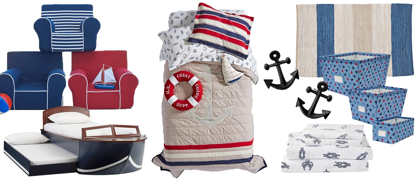 Kids Nautical Bedroom