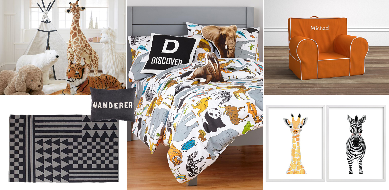 Kids Safari Bedroom | How to Design a Kid's Safari Bedroom | Jungle Bedroom Ideas