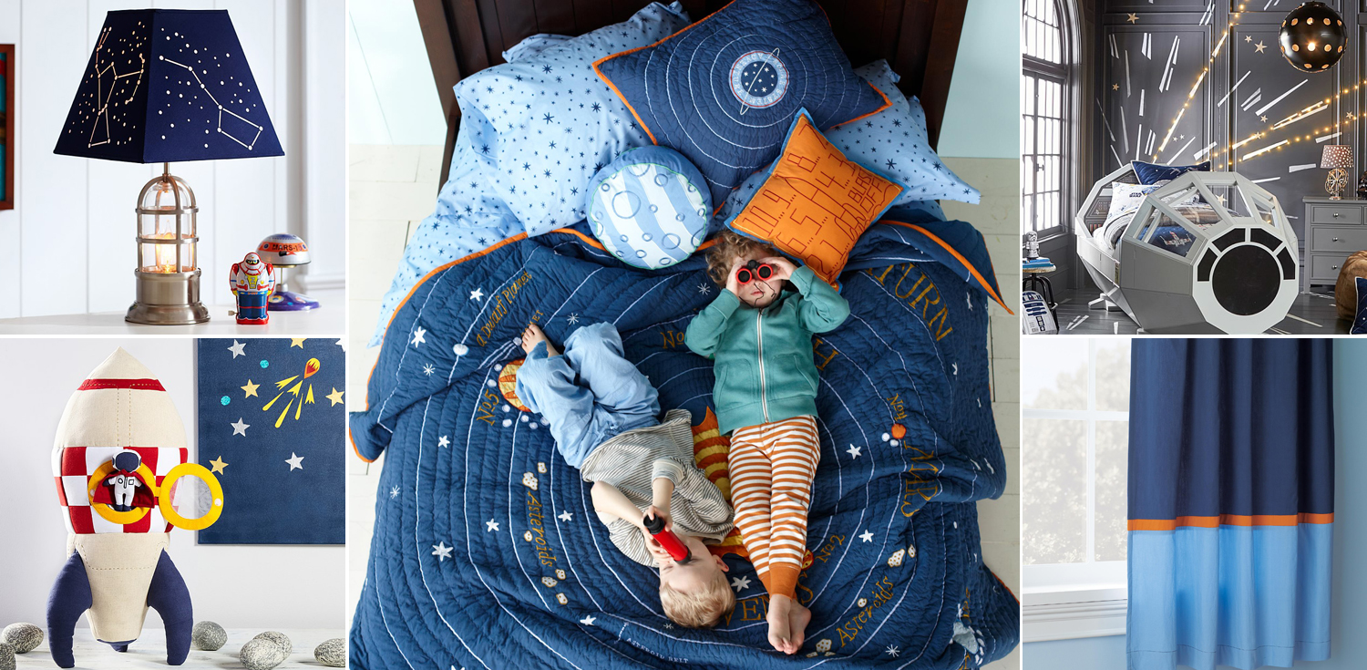Outer Space Bedroom