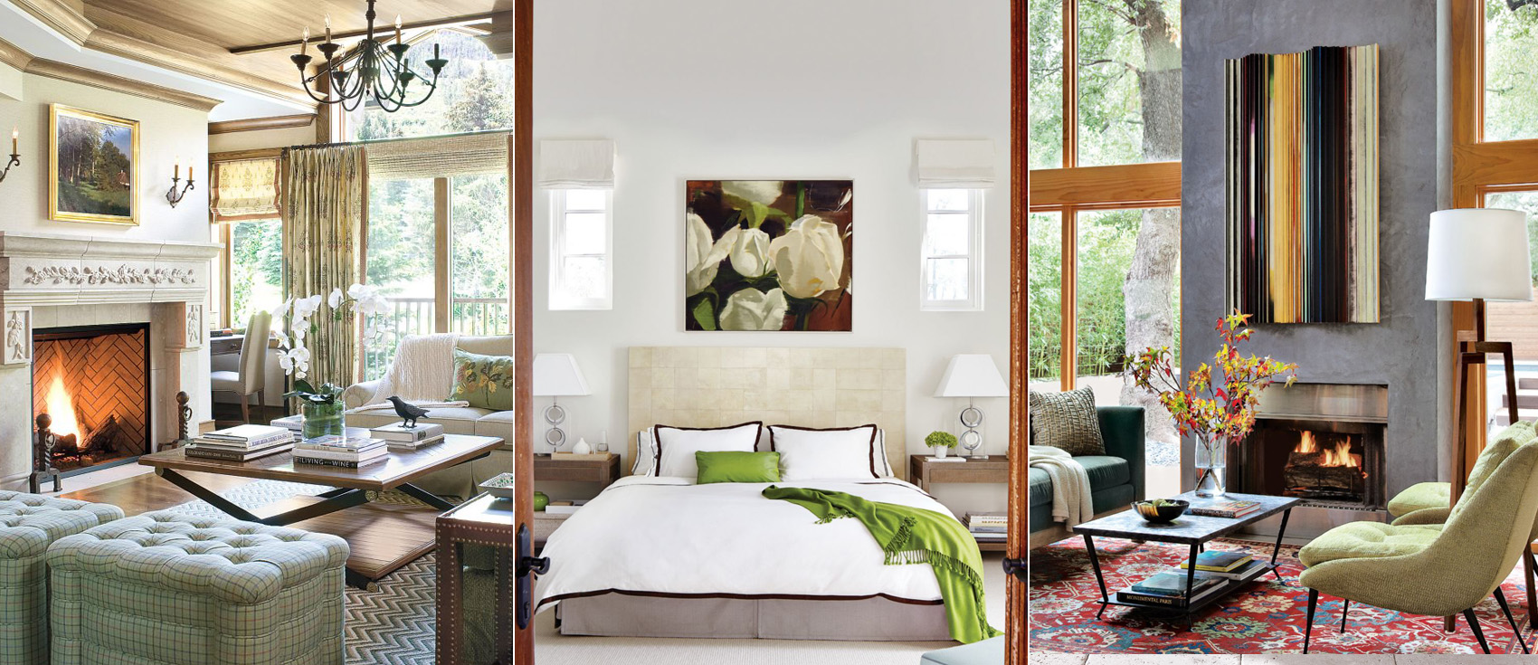 Green Decor | Decorating with Green