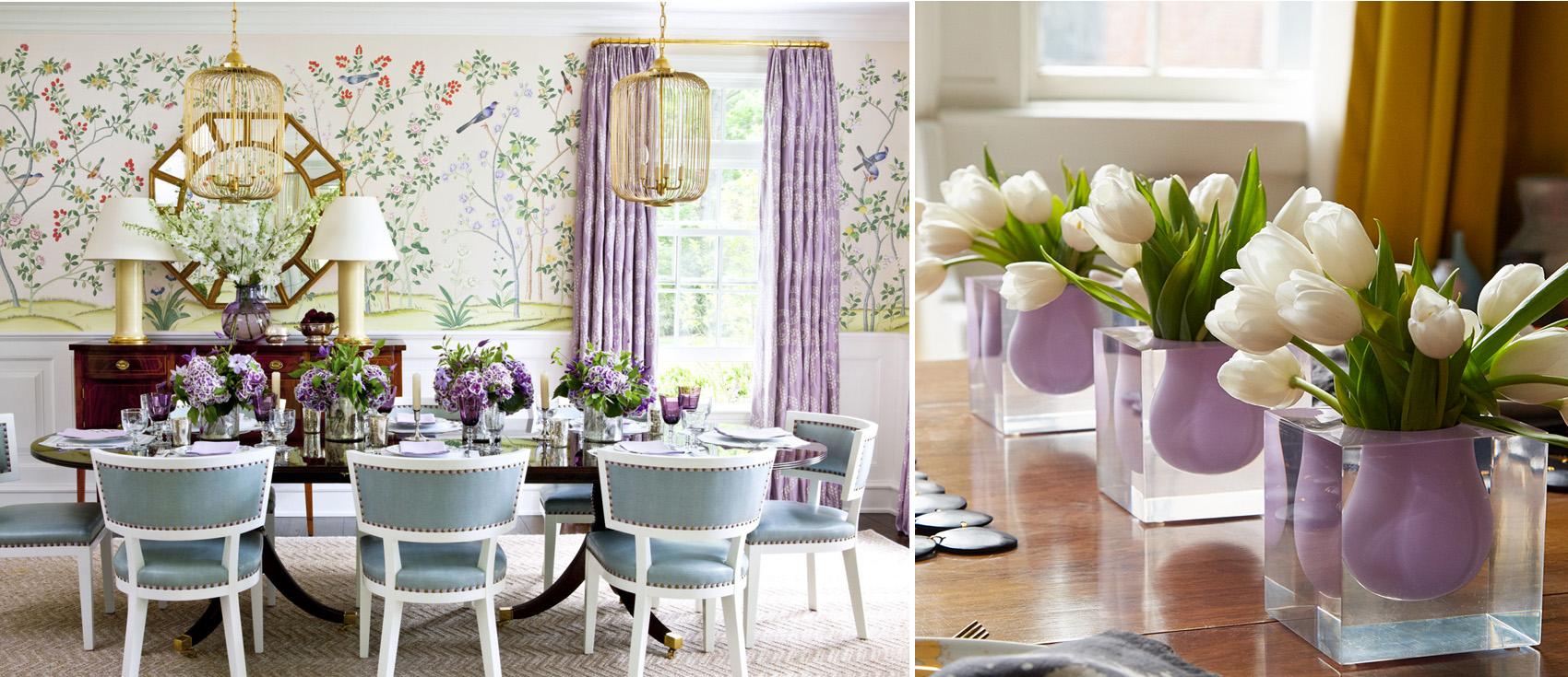 Purple Decor | Decorating with Purple