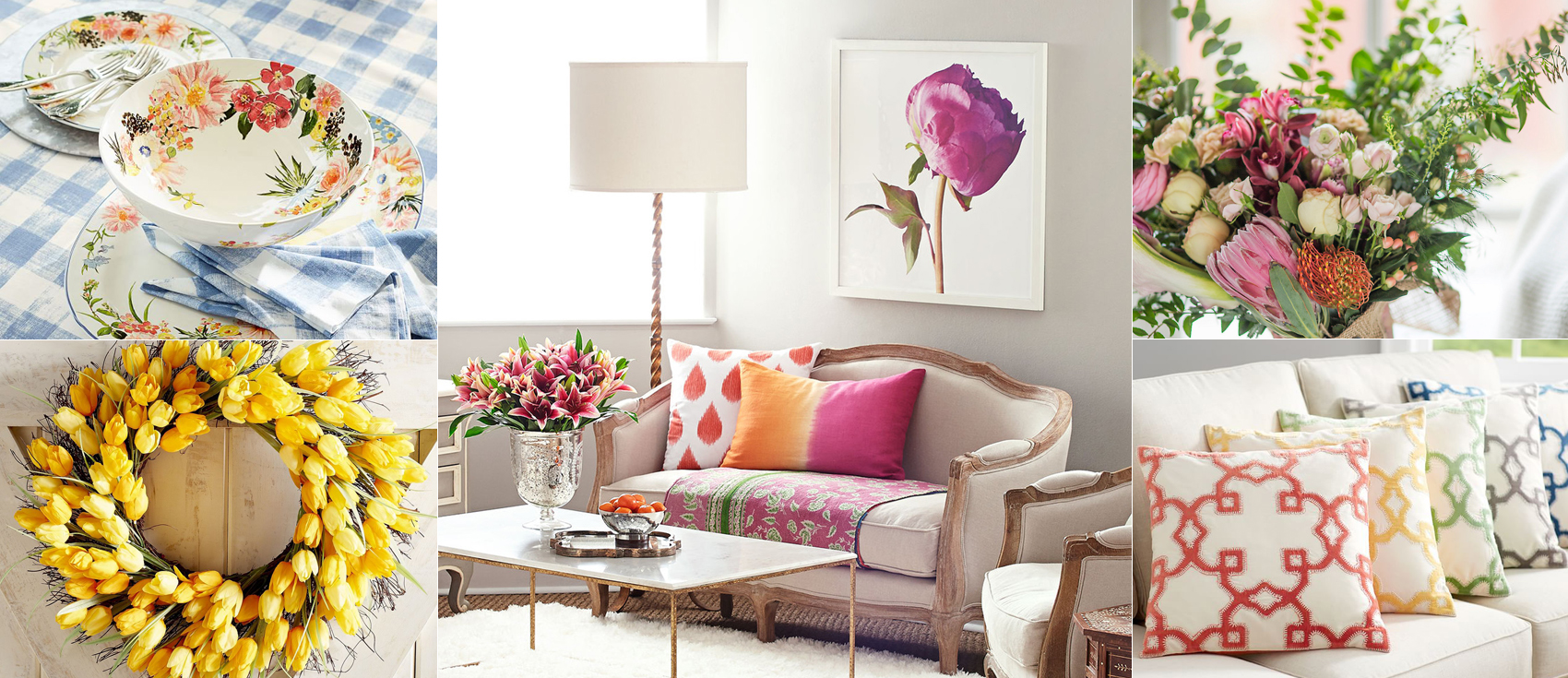 Spring Decor | Spring Decorating Ideas