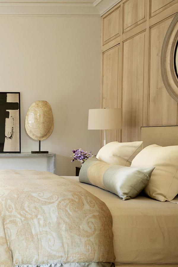 Bedroom with Luxury Bedding