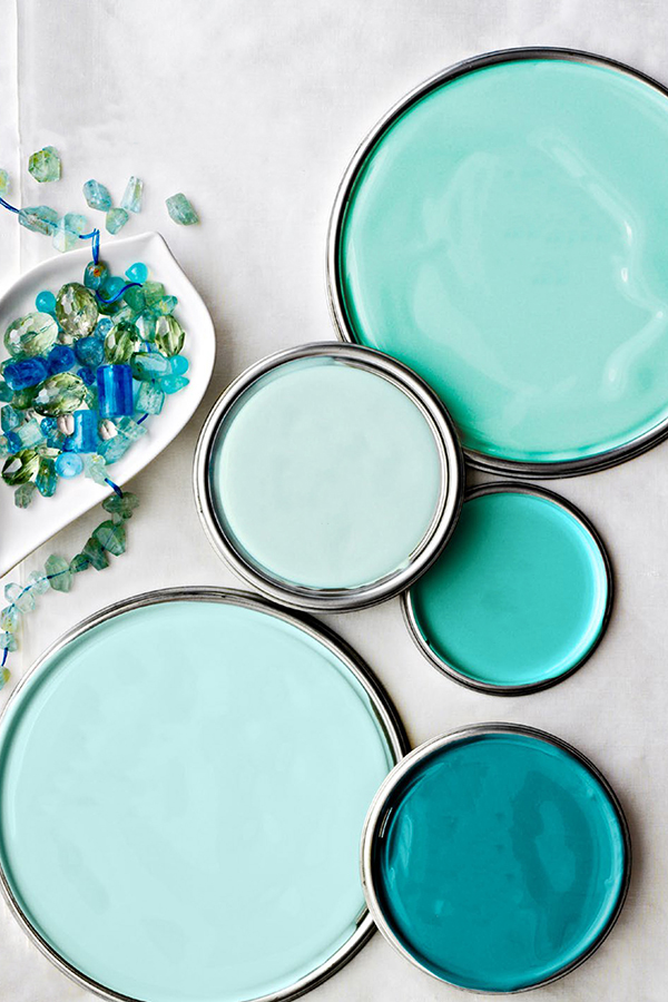 Coastal Colors for Home Decorating