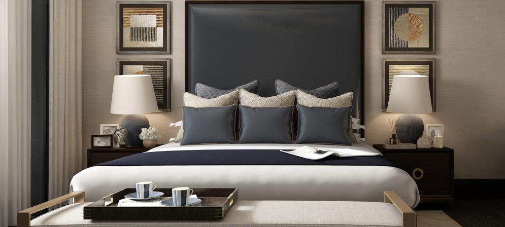 Designer Bedding Master Bedroom