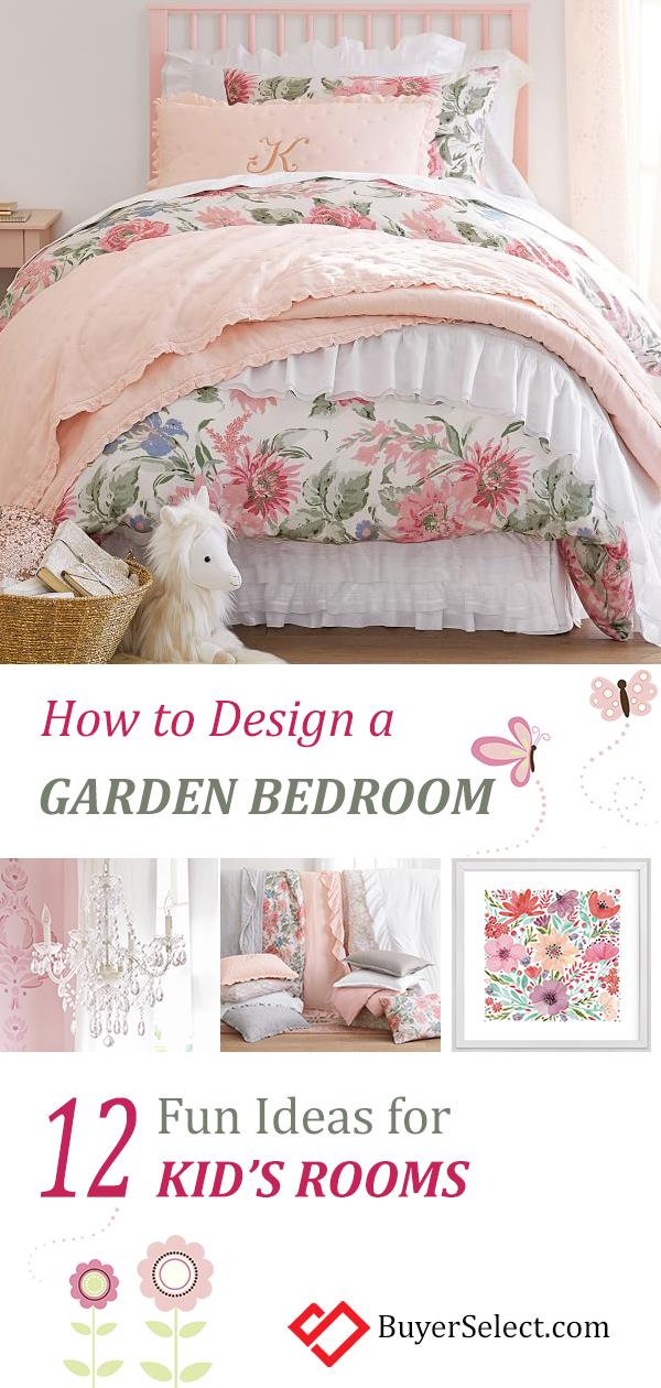 Kid's Garden Bedroom Ideas | How to Design a Kid's Garden Theme Bedroom | Kids Theme Room Ideas