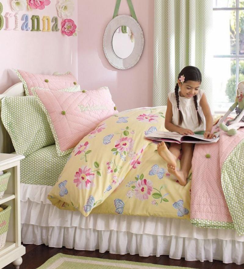 Kid's Garden Theme Bedding | How to Design a Kids Theme Room