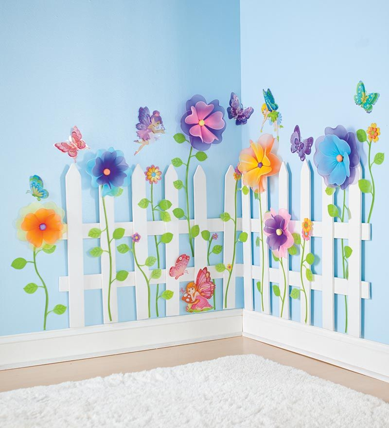Kid's Garden Theme Room Ideas | How to Design a Kids Theme Room