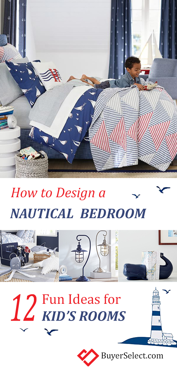 Kid's Nautical Bedroom Ideas | How to Design a Kid's Nautical Theme Bedroom | Kid's Theme Room