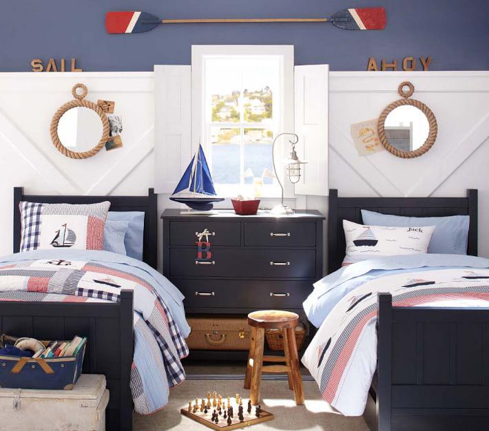 Kid's Nautical Theme Bedroom