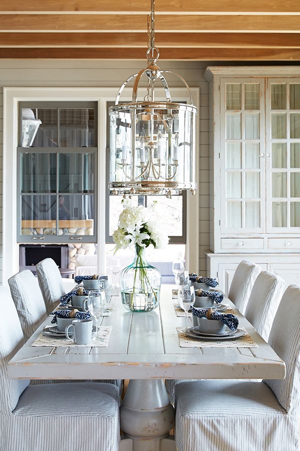 Muskoka Coastal Dining Room