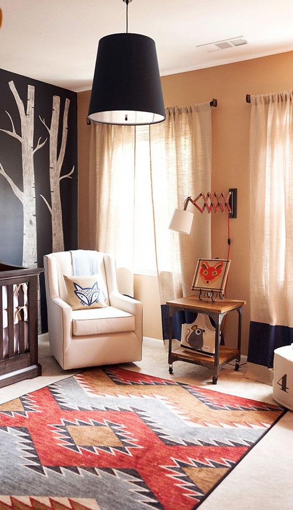 Woodland Nursery | Kids Theme Room Ideas | How to Design a Kids Theme Room