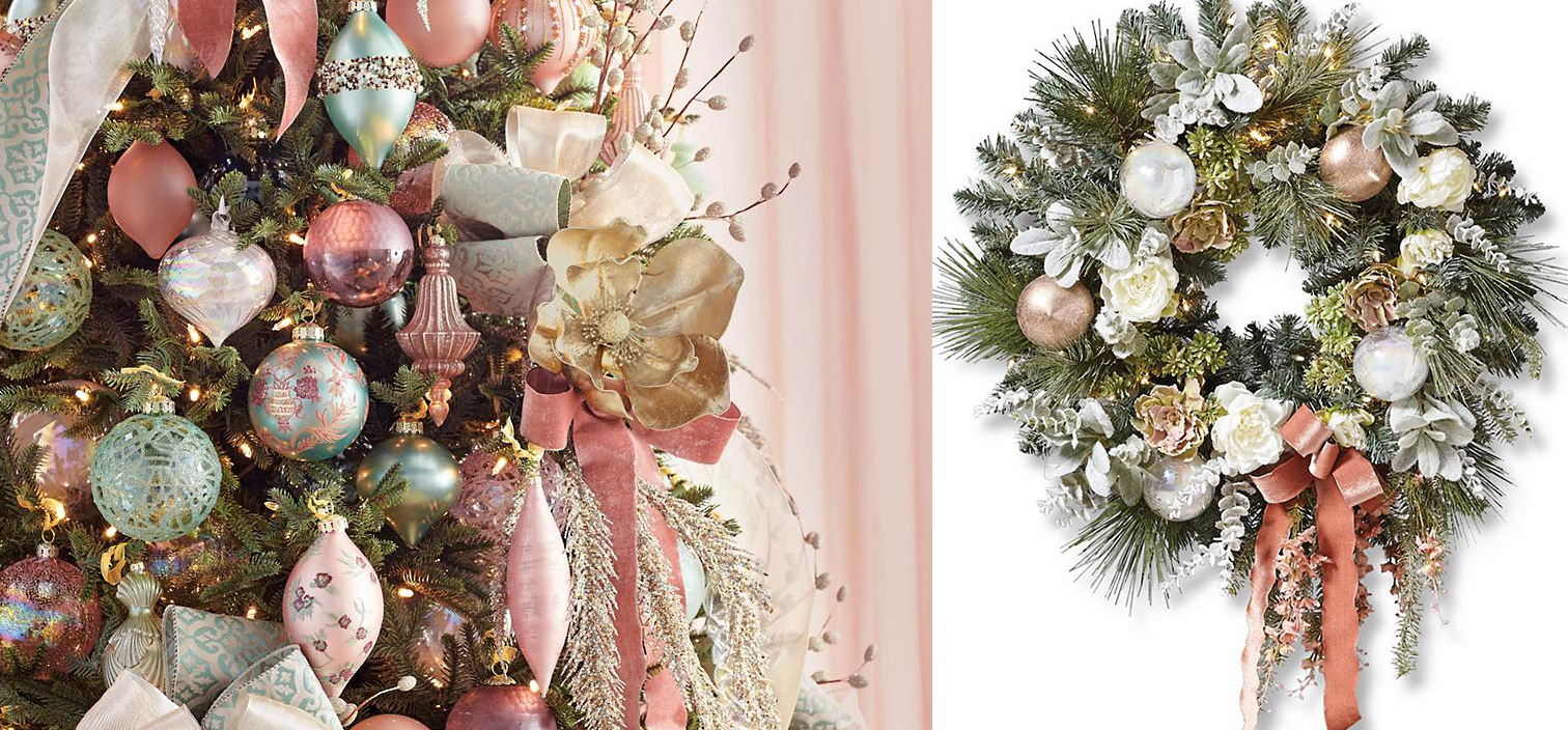 Glam Christmas Ornaments