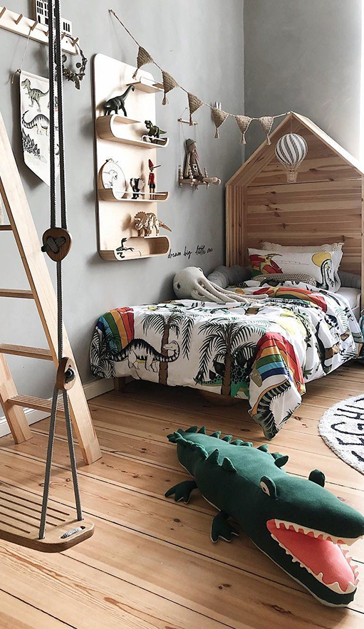 Dinosaur Bedding | Dinosaur Bedroom Ideas | How to design a dinosaur theme bedroom