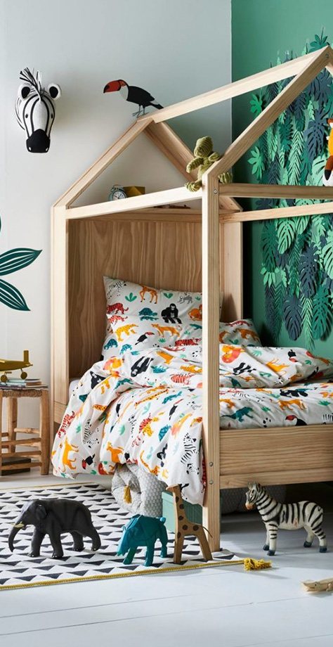 How to Design a Kids Safari Theme Room